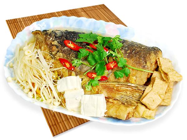 大沙鍋魚頭【清燉】-沙鍋魚頭